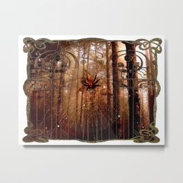 Elvish Places II Metal Print