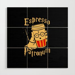 Espresso Patronum Wood Wall Art