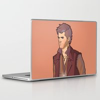 goth Laptop & iPad Skins featuring Goth Cas by rdjpwns