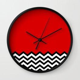 black lodge dreams twin peaks wall clock
