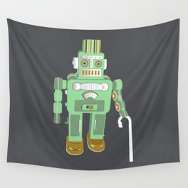 Robot retires Wall Tapestry