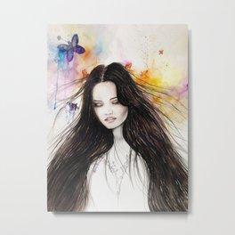 Ariane Watercolour  Metal Print