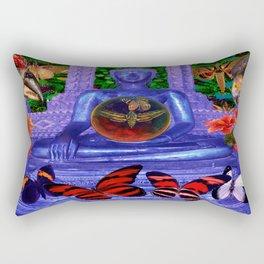 Reaching Nirvana Gautama Buddha Rectangular Pillow