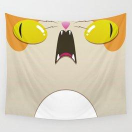 Psycho-Cat Wall Tapestry