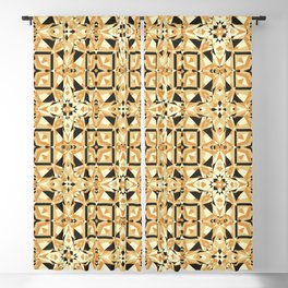 Cookie Or Hardwood? Try And Find Out! Seamless Pattern Blackout Curtain