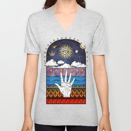 Esoteric prayer Unisex V-Neck