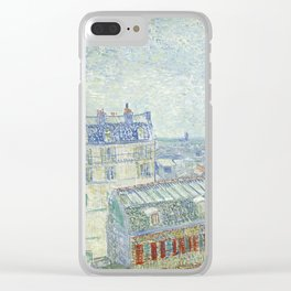 Van Gogh - View from Theo's Apartment, 1887 Clear iPhone Case