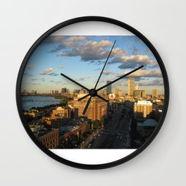 """""""And I've Never Been to Boston in the Fall""""  Wall Clock"""