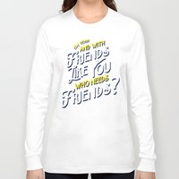 rushmore Long Sleeve T-shirts featuring Rushmore T-shirt Quote by Tabner's