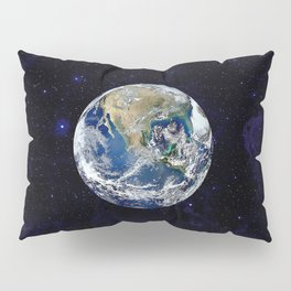 The Earth Pillow Sham