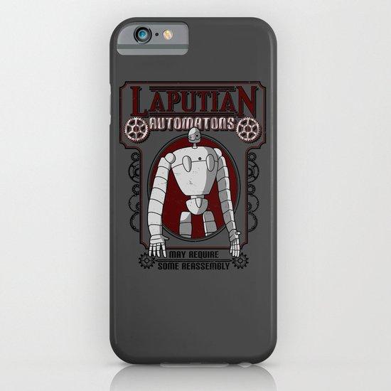 Laputian Automatons iPhone & iPod Case