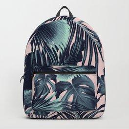 Tropical Jungle Leaves Dream #2 #tropical #decor #art #society6 Backpack