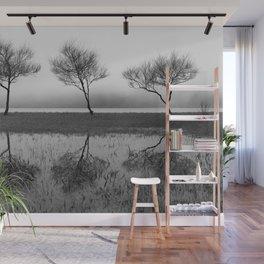 Three trees Wall Mural