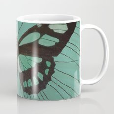 Turquoise Butterfly Mug