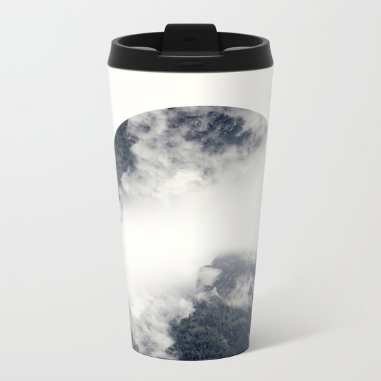 Something's not right.  Metal Travel Mug