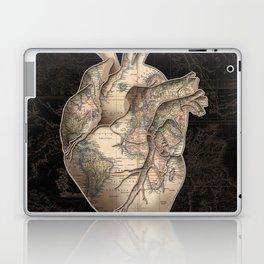 adventure heart-world map Laptop & iPad Skin