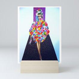 Romance On The Runway - Full Length Mini Art Print
