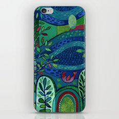Bird by the Pond iPhone Skin