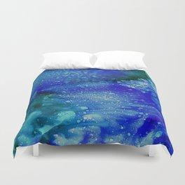 Aurora Galaxy Duvet Cover