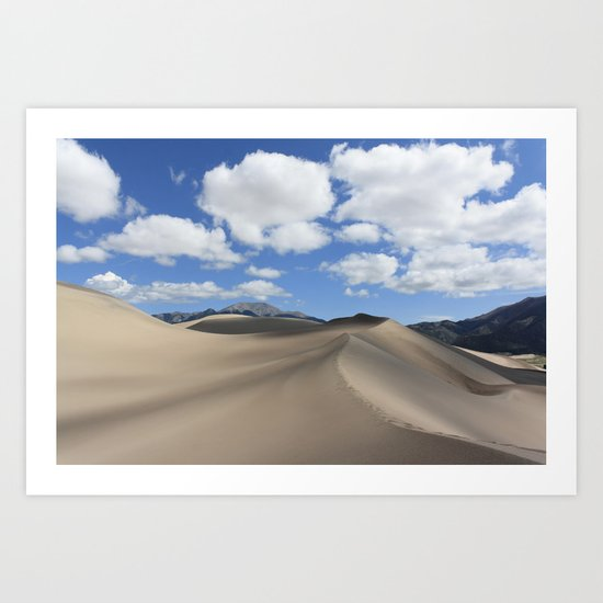 Great Sand Dunes Art Print