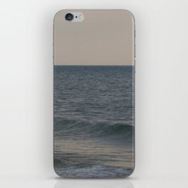 Breakers // Lake Michigan Waves Photography iPhone Skin