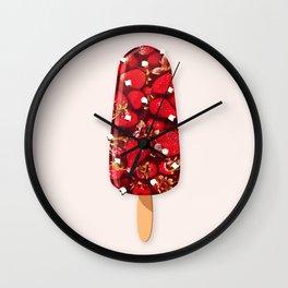 Ice cream - D Wall Clock