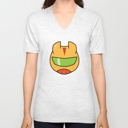 Super Sentai Slime Sriracha Mayo Orange Unisex V-Neck
