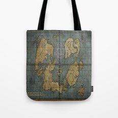 Seimeramus Map Tote Bag