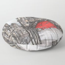 The Royal Mile Floor Pillow