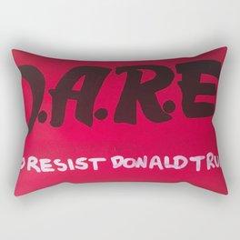 Resist Trump Rectangular Pillow