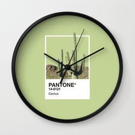 Pantone Series – Cactus Wall Clock