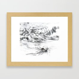 Another Boat Motor Casualty Framed Art Print