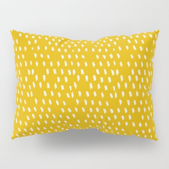 Yellow Modernist Pillow Sham