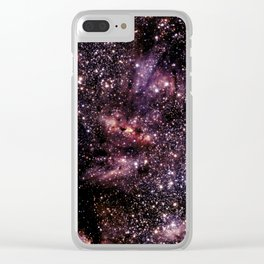 Galaxy Constellation Scorpius Clear iPhone Case