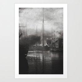 Old Ships Art Print