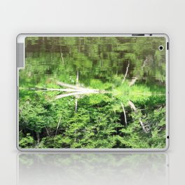 With arms Outstretched Laptop & iPad Skin
