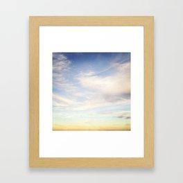 Sky Study - 56 Framed Art Print