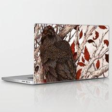 A Raven In Winter Laptop & iPad Skin