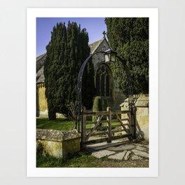 Church Arches Art Print
