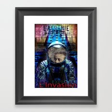 EXPLORER Framed Art Print