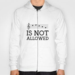 Decaf is not allowed Hoody