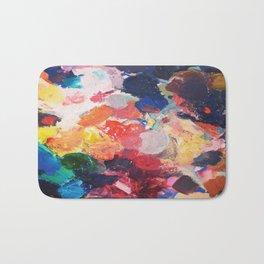Paint Palette Bath Mat