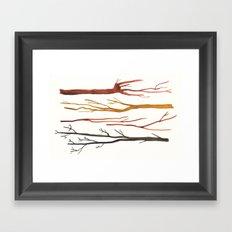 moleskine sticks Framed Art Print