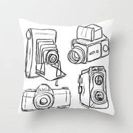 A Picture Is Worth A Thousand Words Throw Pillow