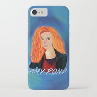 amy pond iPhone & iPod Cases featuring Amy Pond by STATE OF GRACCE