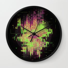 Midnight Mist Wall Clock