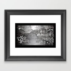 #ERROR57.09 Framed Art Print