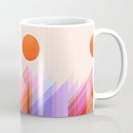 Abstraction_RAINBOW_LANDSCAPE_POP_ART_Minimalism_002X Coffee Mug