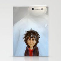 big hero 6 Stationery Cards featuring Big Hero 6 by MikakoskArts