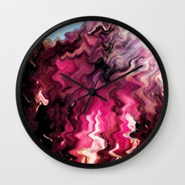 Wave Of Emotion Wall Clock